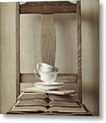 Tea Tales Metal Print by Amy Weiss