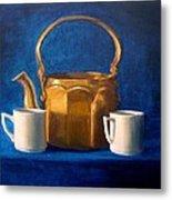 Tea Time Metal Print by Janet King