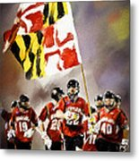 Team Maryland  Metal Print by Scott Melby