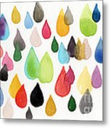 Tears Of An Artist Metal Print by Linda Woods