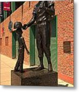 Ted Williams Metal Print by Paul Mangold