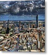 Tel Aviv Love Metal Print by Ron Shoshani