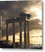 Temple Of Apollo In Side Metal Print by Jelena Jovanovic
