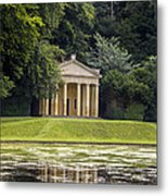 Temple Of Piety Metal Print by Chris Smith