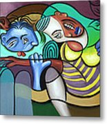 Tender Moments Metal Print by Anthony Falbo