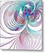 Tendrils 02 Metal Print by Amanda Moore