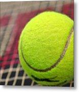 Tennis Anyone... Metal Print by Kaye Menner
