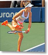 Tennis Star Laura Robson Metal Print by Harold Bonacquist