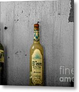 Tequila And Vino Tinto Metal Print by Cheryl Young