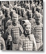 Terracotta Army Metal Print by Adam Romanowicz