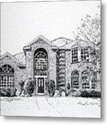 Texas Home 2 Metal Print by Hanne Lore Koehler