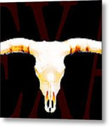Texas Longhorns By Sharon Cummings Metal Print by Sharon Cummings