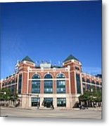 Texas Rangers Ballpark In Arlington Metal Print by Frank Romeo