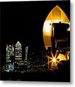 Thames Barrier Metal Print by Dawn OConnor