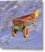 The 356th Toy Plane Squadron 2 Metal Print by Mike McGlothlen