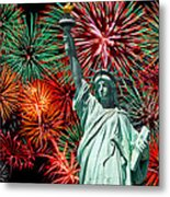 The 4th Of July Metal Print by Anthony Sacco