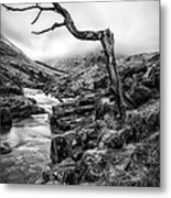 The Accusing Finger Metal Print by John Farnan