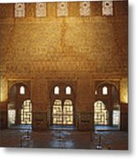The Alhambra King Room Metal Print by Guido Montanes Castillo