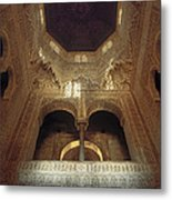 The Alhambra The Infantas Tower Metal Print by Guido Montanes Castillo