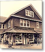The Allenwood General Store Metal Print by Olivier Le Queinec