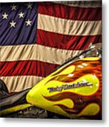 The American Ride Metal Print by Jeff Swanson