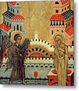 The Annunciation Metal Print by Fedusko of Sambor