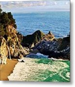 The Beauty Of Big Sur Metal Print by Benjamin Yeager