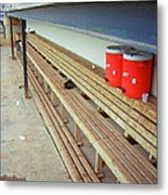 The Bench Metal Print by Frank Romeo