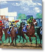 The Bets Are On Again Metal Print by Anthony Falbo
