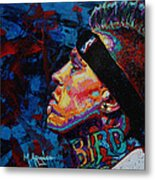 The Birdman Chris Andersen Metal Print by Maria Arango