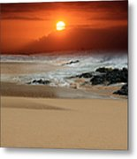 The Birth Of The Island Metal Print by Sharon Mau