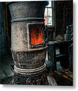 The Blacksmiths Furnace - Industrial Metal Print by Gary Heller