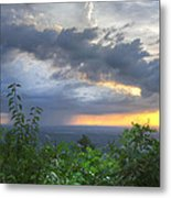 The Blue Ridge Mountains Metal Print by Debra and Dave Vanderlaan