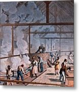 The Boiling House, From Ten Views Metal Print by William Clark