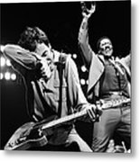 The Boss And The Big Man Metal Print by Chris Walter
