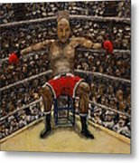 The Boxer Metal Print by Richard Wandell