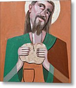 The Bread Of Life Metal Print by Anthony Falbo