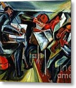 The Budapest String Quartet Metal Print by Pg Reproductions