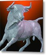 The Bull... Metal Print by Tim Fillingim