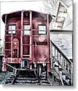 The Caboose Metal Print by Bill Cannon