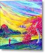 The Calling Metal Print by Jane Small
