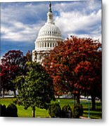 The Capitol Metal Print by Greg Fortier