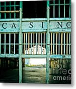 The Casino Metal Print by Colleen Kammerer