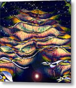 The Cave Dweller Metal Print by Wendy J St Christopher