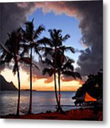 The Center Of The Storm Metal Print by Lynn Bauer