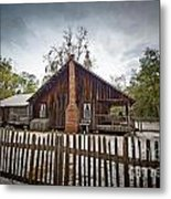 The Chesser Homestead Metal Print by Southern Photo