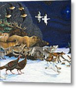 The Christmas Star Metal Print by Lynn Bywaters