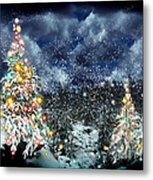 The Christmas Tree Metal Print by Boon Mee