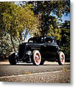 The Classic Hot Rod Metal Print by motography aka Phil Clark