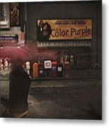 The Color Purple Metal Print by Linda Unger
